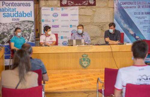 Ponteareas acoge el Campeonato de Verano Máster de Natación de Galicia, única prueba autonómica de esta categoría de la temporada