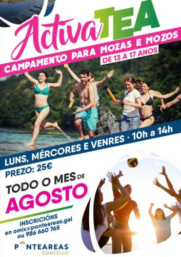 El Ayuntamiento pone en marcha campamentos de verano para jóvenes de Pontearea